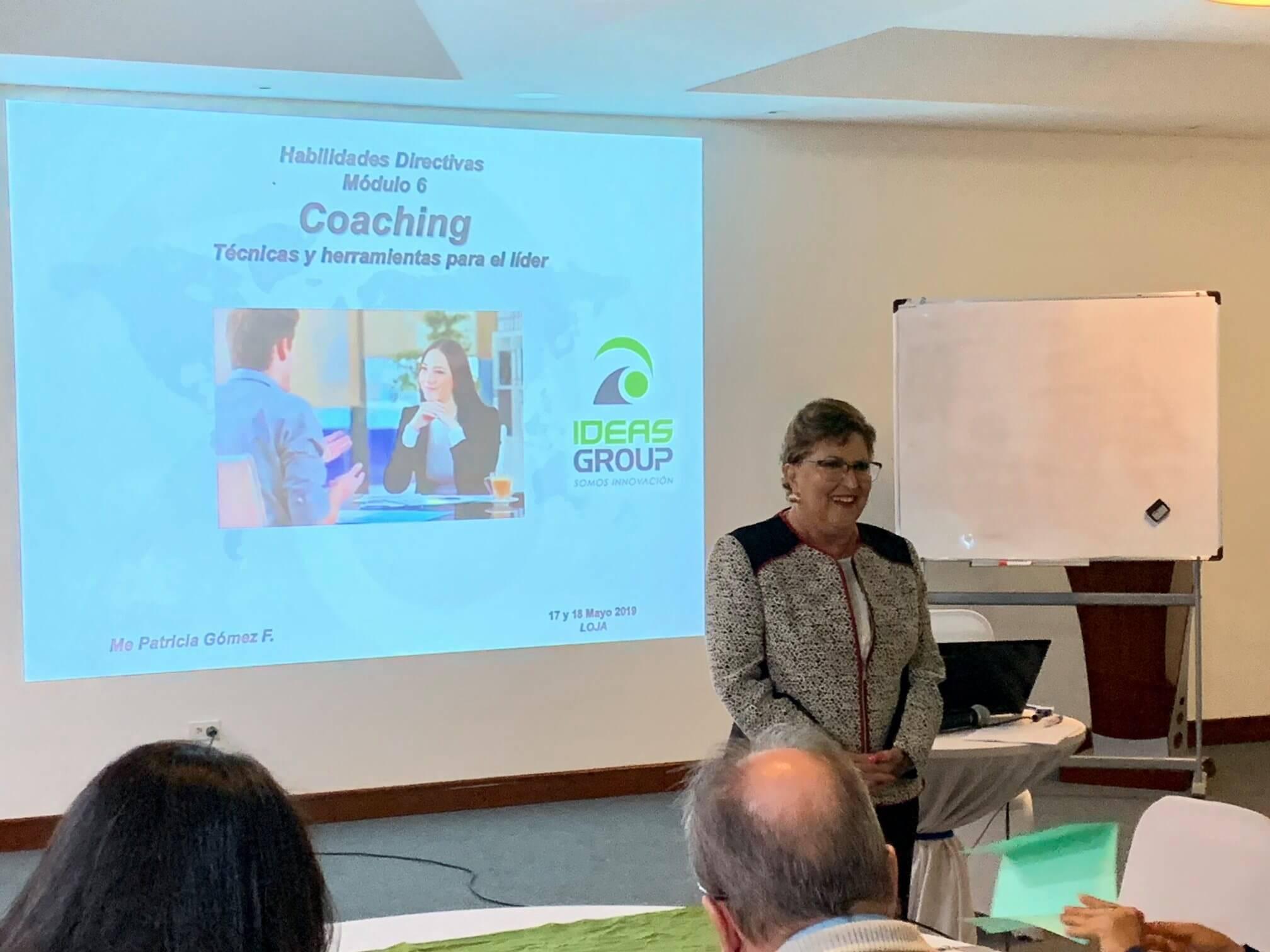 Programa Internacional de Desarrollo de Gerencial - Fundación FACES - Loja, Ecuador - Capacitación empresarial por IDEASGROUP Ecuador