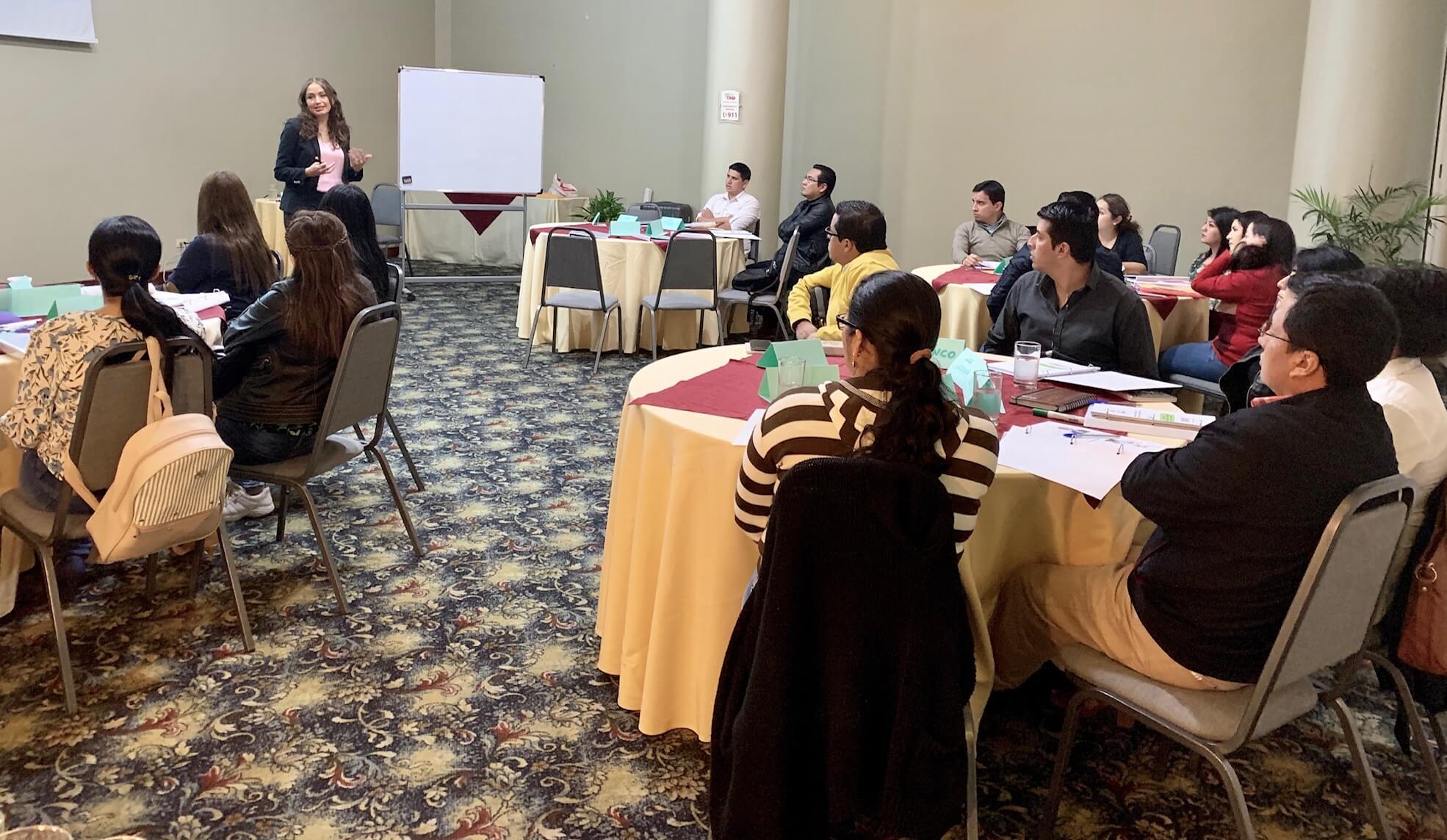 Programa Internacional de Desarrollo de Mandos Medios -Módulo 4 Fundación FACES - Loja, Ecuador - Capacitación empresarial por IDEASGROUP Ecuador