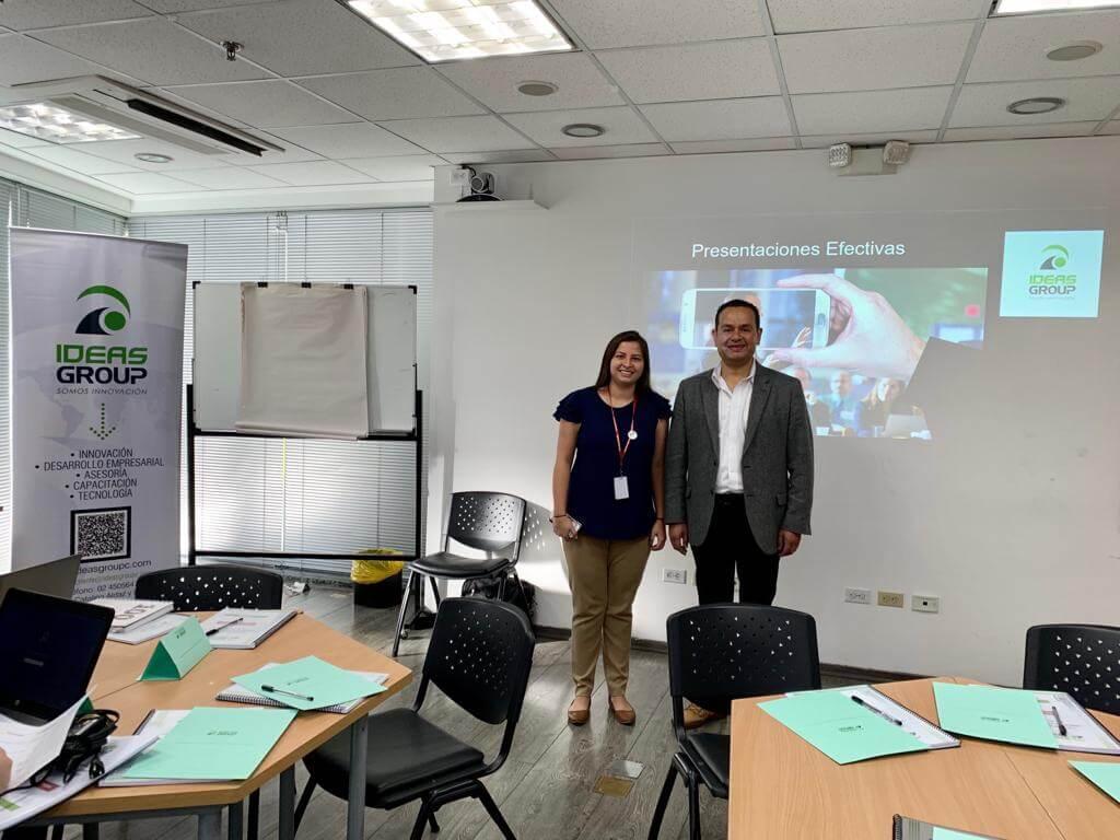Taller de presentaciones de alto impacto - Halliburton - Quito - Capacitación empresarial por IDEASGROUP Ecuador